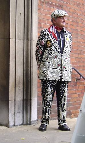 London Pearly Kings and Queens: Pearly King of Bow Bells & The City of London