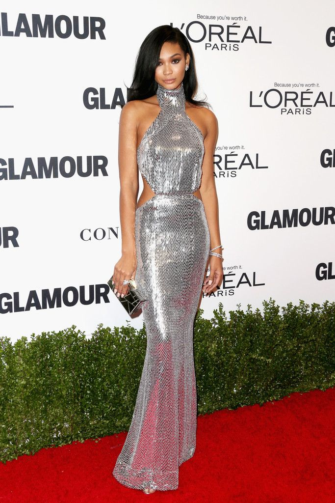 Model Chanel Iman attends Glamour Women Of The Year 2016 at NeueHouse Hollywood on November 14, 2016 in Los Angeles, California.