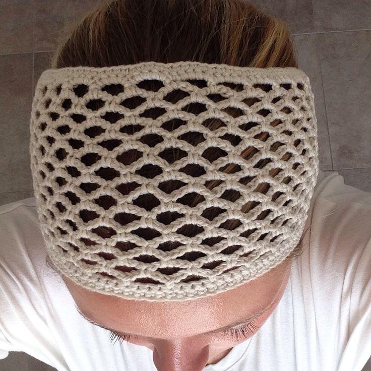 Hårbånd hårpynt hairband hairaccessories  Hæklet  Crochet