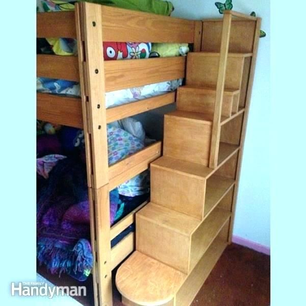 Bunk Bed Steps Only Bunk Bed Steps Only Plans With Stairs Storage