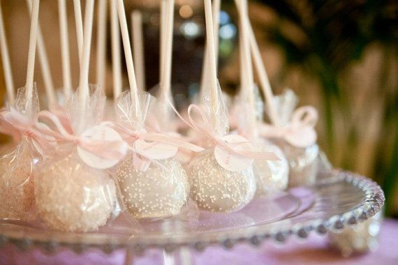 WEDDING CAKE POPS by jenspopshoppe on Etsy, $30.00
