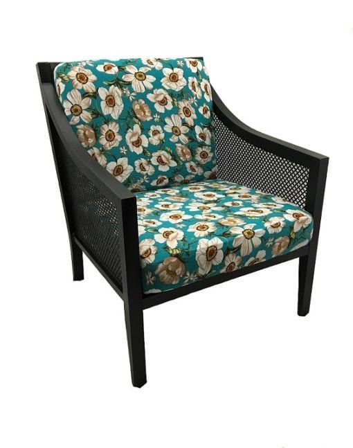Pacific Floral Fig Leaf Cushion Cover Patio Furniture Cushions