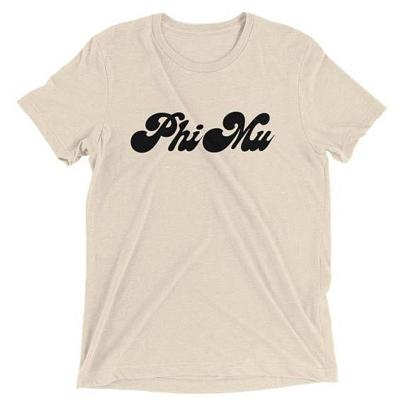 Phi Mu Shirt Phi Mu T Shirt Phi Mu Tee Phi Mu Sorority Gifts Big Little Sorority Sorority Letters Sorority Shirts Sorority Shirt Co by 25VintagePlace