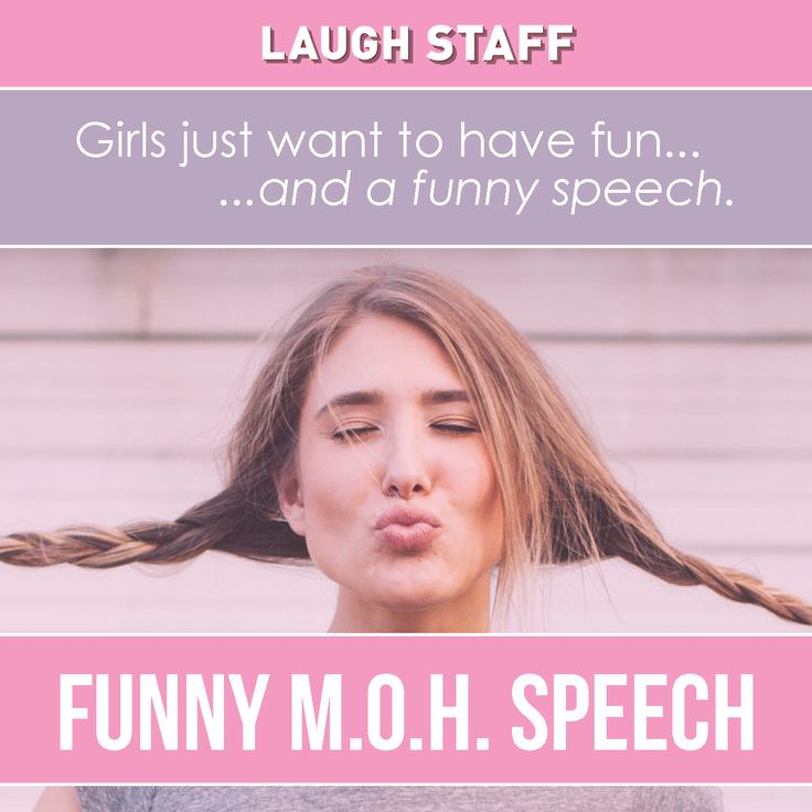 Write a funny speech about myself