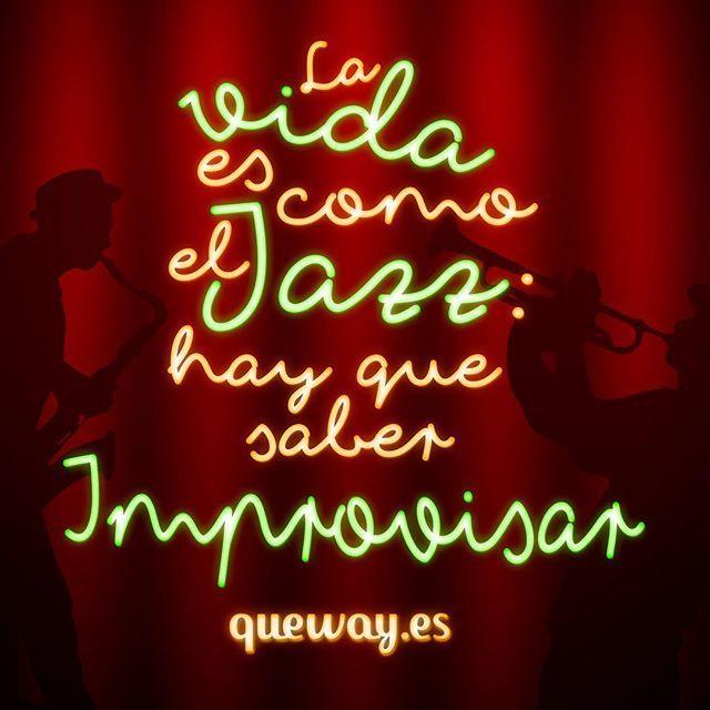 ¡Feliz Día Internacional del Jazz! :) #jazz #30deabril #queway #quewayeseljazz #diamundialdeljazz #diainternacionaldeljazz #improvisar