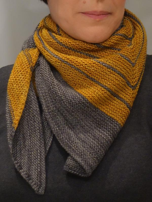 Ravelry: knitternatter's Stripe Study Shawl