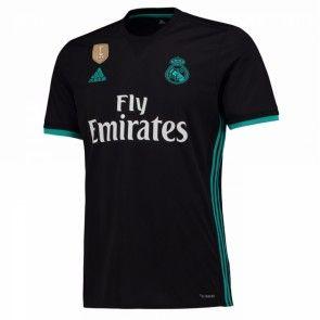 Real Madrid Venkovní Dres 17-18 Krátký Rukáv