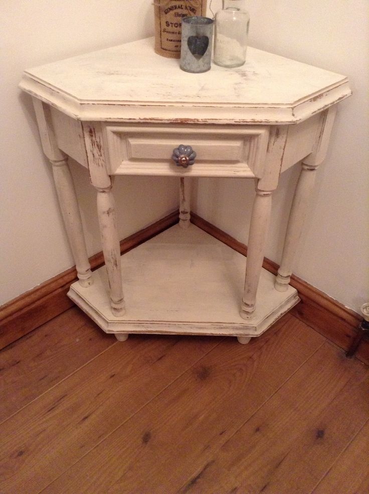 diy corner accent table