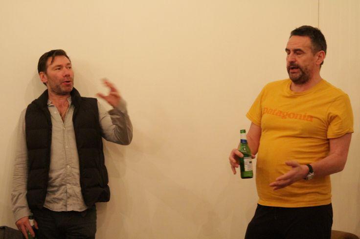 Mat Colishaw and Jim Shorthose. Photo by Jes Hill