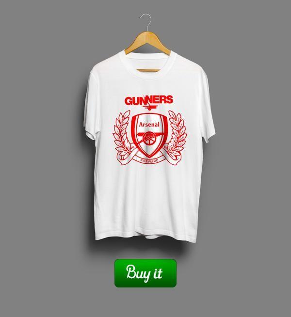Gunners Arsenal | #Арсенал #Arsenal #Football #Club #футбол #футболка #tshirt #Gunners #Канониры
