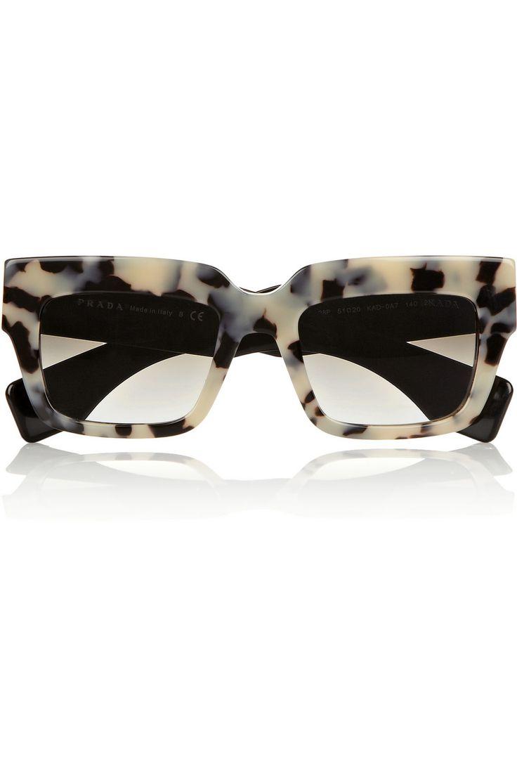 Prada | Square-frame acetate sunglasses | NET-A-PORTER.COM