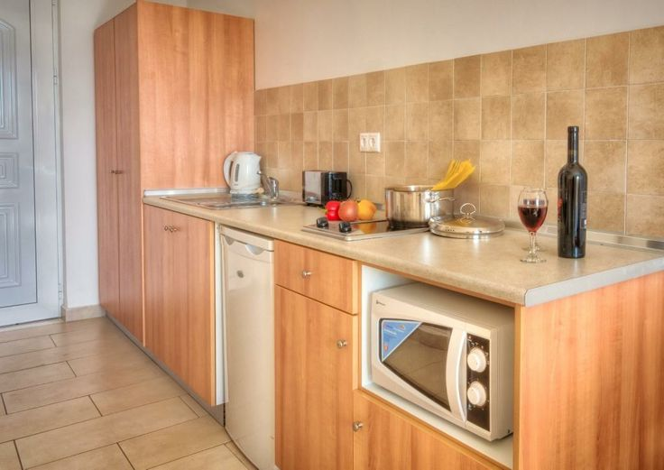 Typical kitchen facilities in our modern rooms #Pefkos #Rhodes #LindianCollection #MatinaPefkos