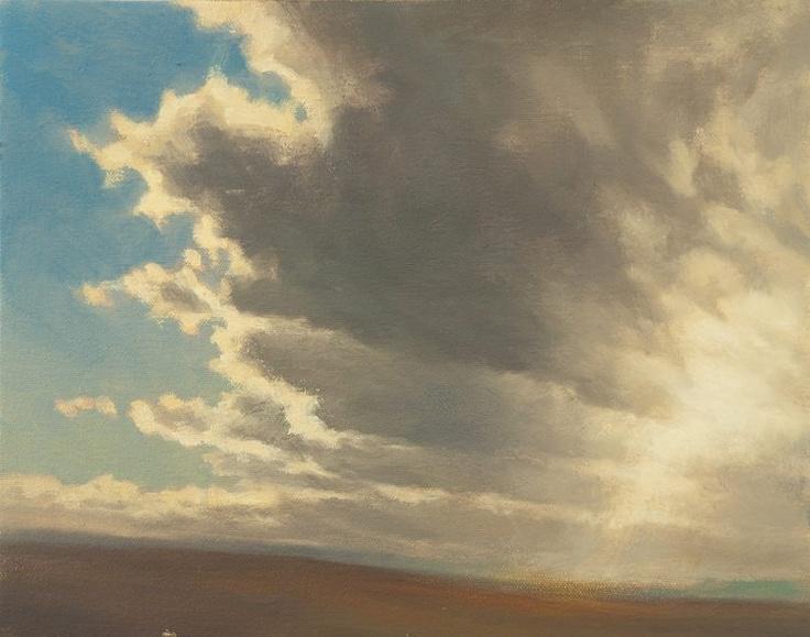 by Ken Bushe: Clouds Painting, Ken Bush, Kenn Bush, Art, Clouds Study, Clouds Structures, Bush Uk, Oil Painting