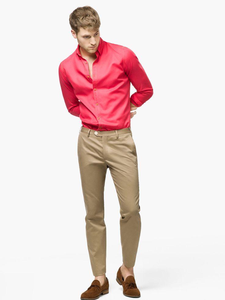 Abbinamento camicia pantaloni a sigaretta  Outfit inspiration