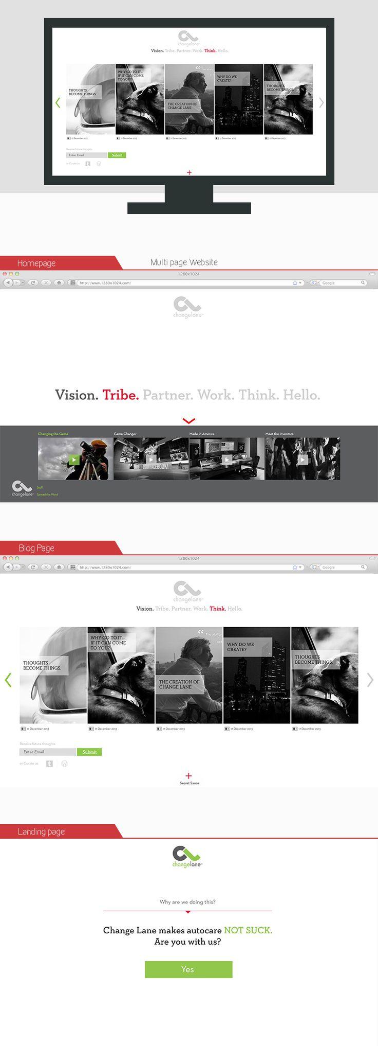 Corporate Website - Blog Design — UnfoldAtelier: Boost Sales with Friendly Design