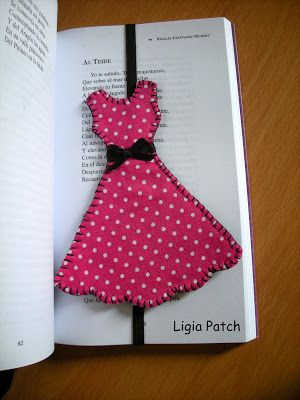 Ligia Patch: MARCADORES DE LIBROS