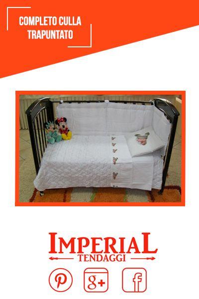 Completo #Culla trapuntato disponibile sul nostro sito ufficiale www.imperialtendaggi.it