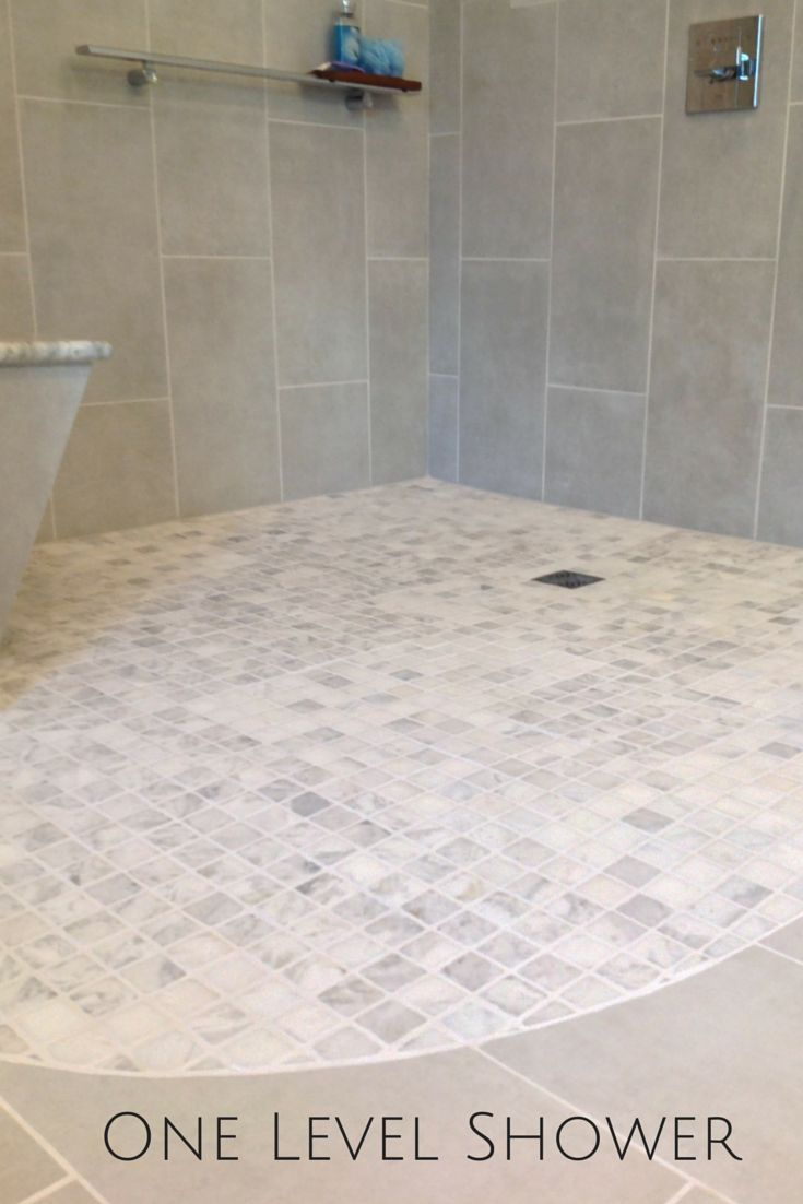 A one level walk in shower can be as sleek as it is safe. Learn more - http://blog.innovatebuildingsolutions.com/2015/08/08/san-diego-hotel-inspires-open-design-bath-remodel-cleveland/