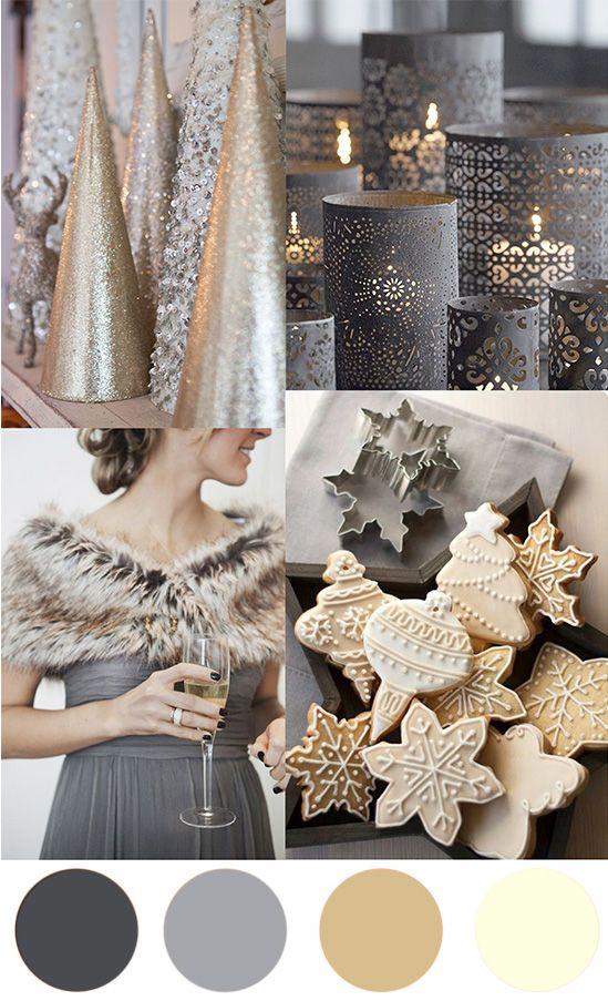 Christmas Colour Palette – Grey & Cream