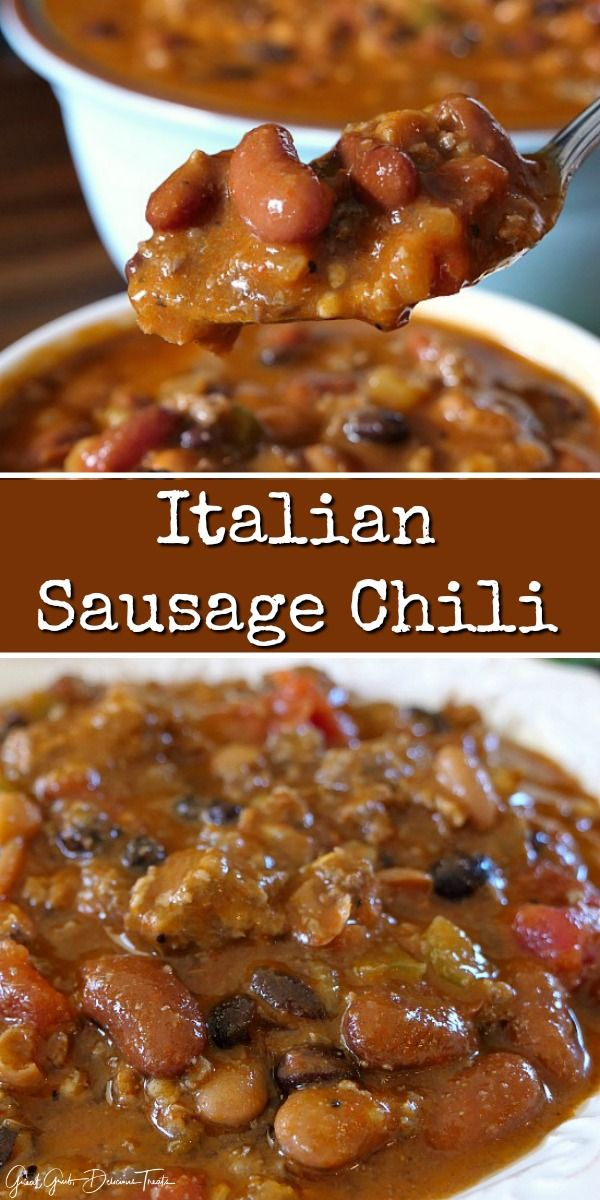 Italian Sausage Chili Sausage Recipes For Dinner Italian Sausage Chili Ground Italian Sausage Recipes