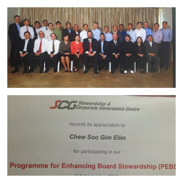 2 full days for Programme for Enhancing Board Leadership