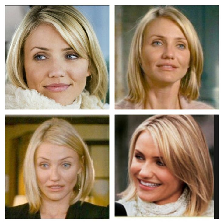 Cameron Diaz cute short cut