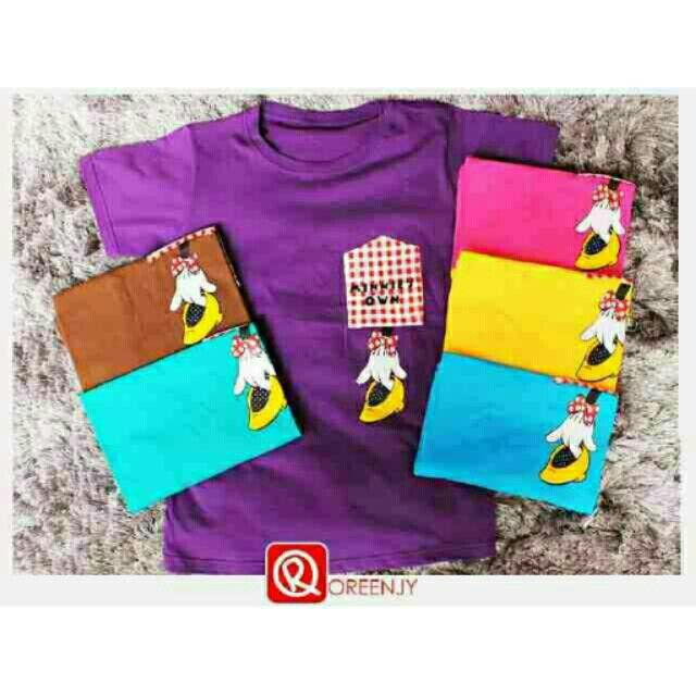 Saya menjual Kaos wanita / kaos lengan pendek / mickey shoes / size allsize seharga Rp40.000. Dapatkan produk ini hanya di Shopee! https://shopee.co.id/ssfashionkaos/462259281 #ShopeeID