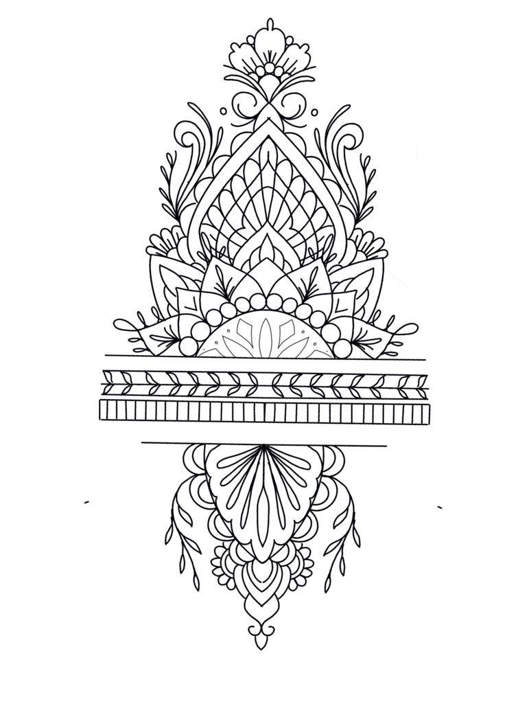 48 Trendy Mandala Tattoo Vorlagen Mandala