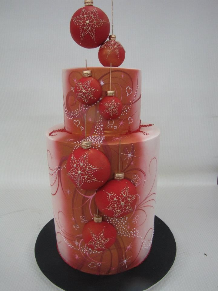 Beautifull Christmas cake