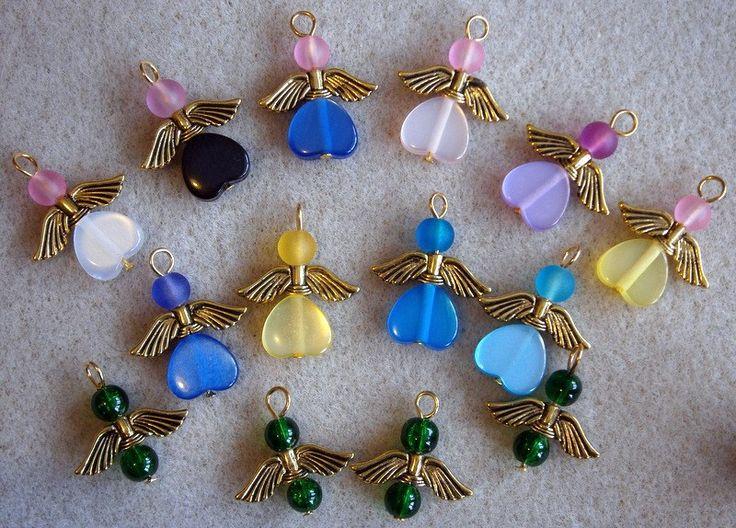 Bead Angel Charms