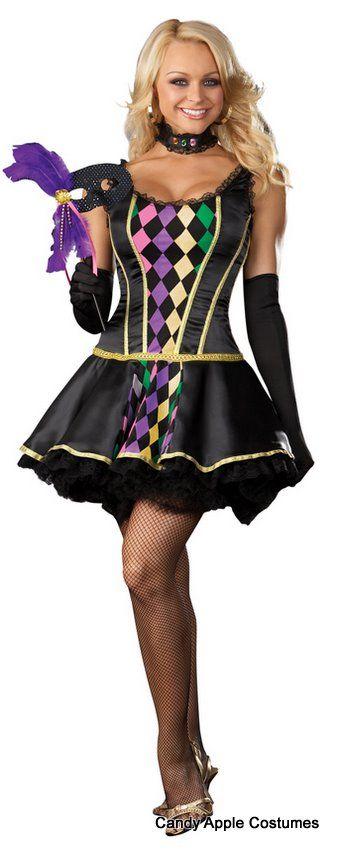 dreamgirl mardi gras masquerade sexy costume mardi gras costumes - Masquerade Costumes Halloween