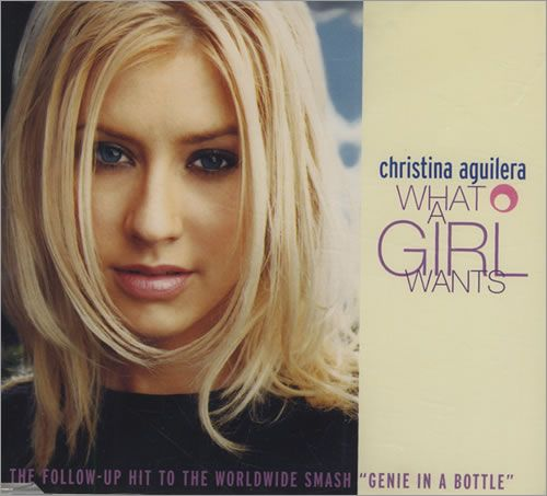 Christina Aguilera - 3rd single - What A Girl Wants