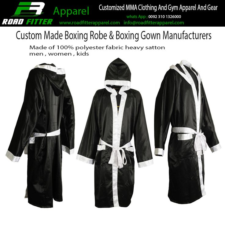 Personalised Boxing Robes: 9 Best Custom Boxing Apparel Manufacturers Images On