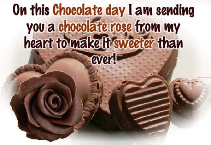 9th feb Happy chocolate day 2018 sms images wishes quotes wallpapers date