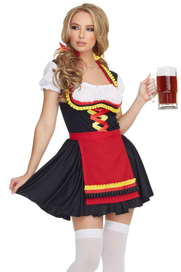 Sexy german beer girl costume