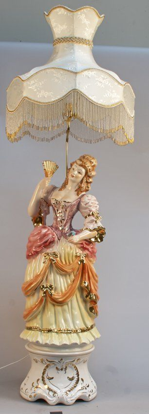 Capodimonte Porcelain Table Lamp : Best images about capodimonte italian porcelain on