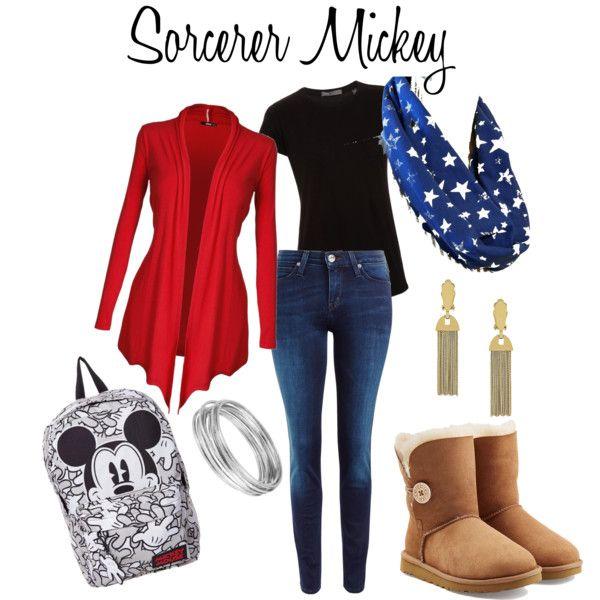 Sorcerer Mickey disneybound stars infinity scarf
