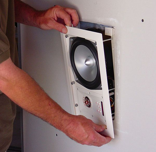 In-Wall Speaker Installation- this needs to happen in my house- I am over the bulky floor speakers we have