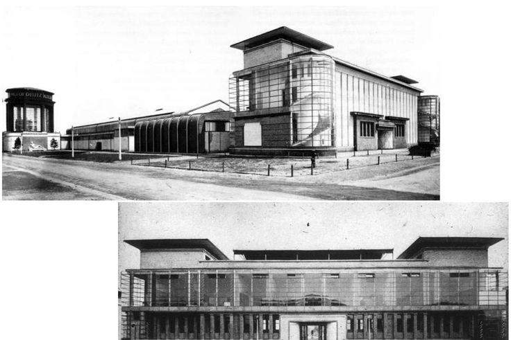 gropius model factory werkbund exhbition cologne 1914