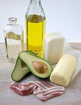 High-Fat Foods Common on Ketogenic Diets