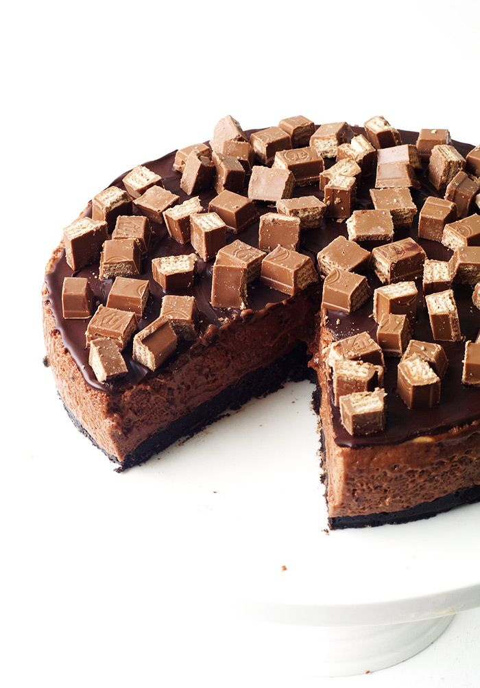 no bake chocolate marshmallow mousse cake