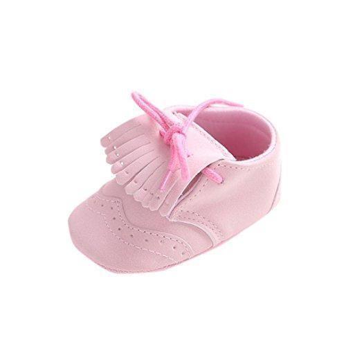 Oferta: 3.12€. Comprar Ofertas de Tefamore zapatos primeros pasos bebes de antideslizante de sole suave de moda invierno de calentar Piel de encaje (Tamaño: 11 barato. ¡Mira las ofertas!