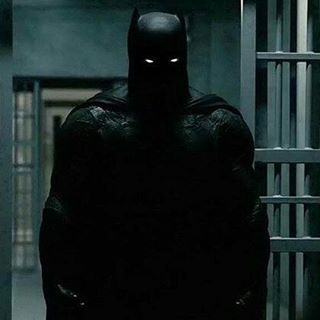 This is batman perfected in looks that is he is supposed to look like a demon merging out of the shadows