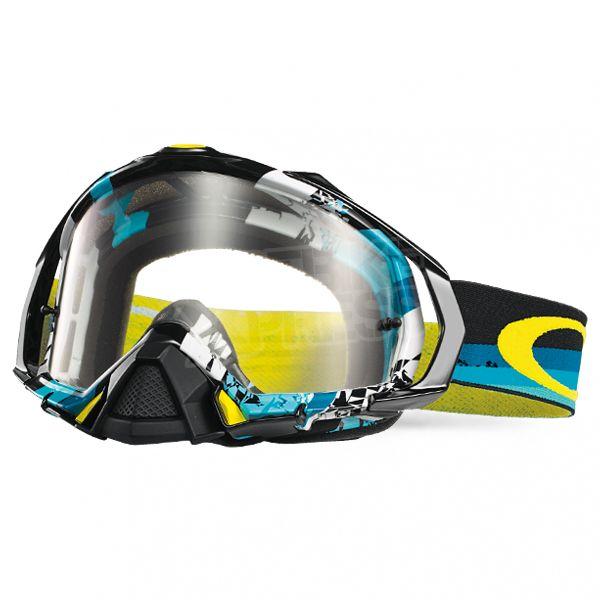 Oakley Mayhem Pro MX Goggles - Legacy Blue