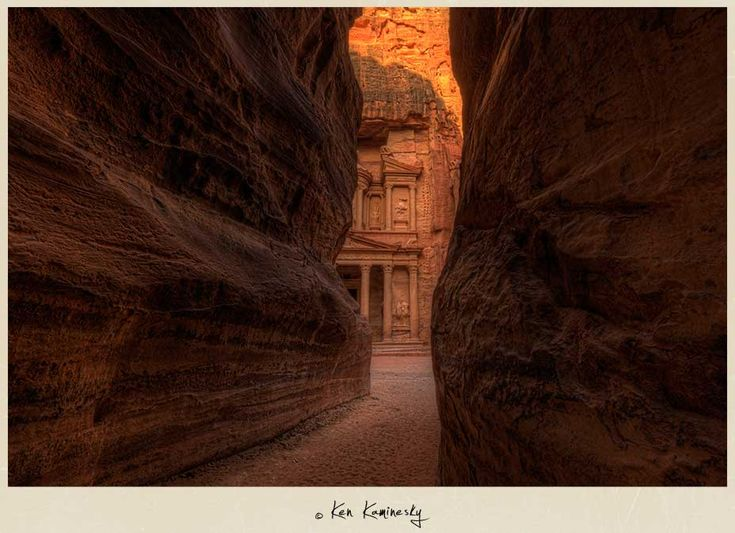 The Treasury in Petra, Jordan by Ken Kaminesky. Loads of fantastic travel photos on this site! Be sure to check them out - they're beautiful!!
