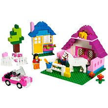 "My girls gift guide.   LEGO Bricks & More Large Pink Brick Box (5560) - LEGO - Toys ""R"" Us"