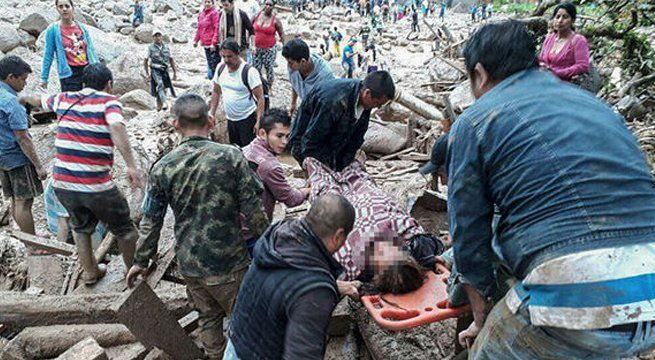 Colombia landslide death toll rises to 234: Red Cross, reports news agency AFP. Details Awaited