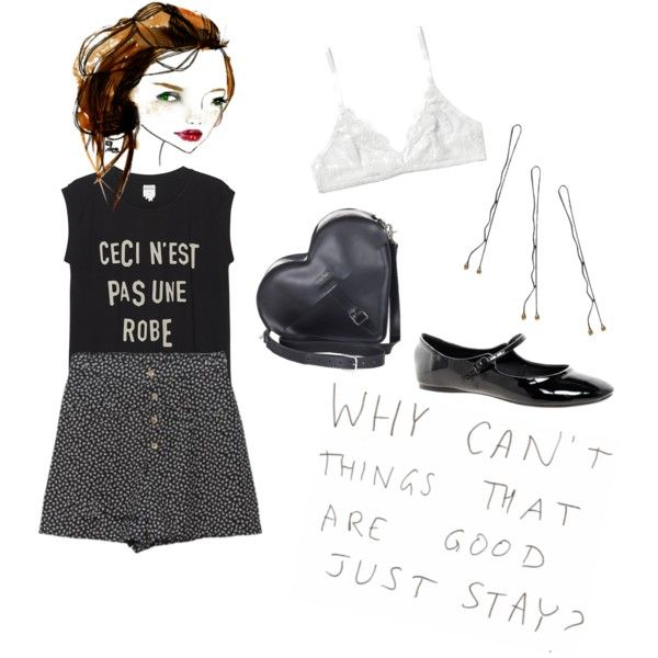 Untitled #112 by violent-eyes on Polyvore featuring Monki, ASOS, Dr. Martens, Conair, paris and grunge