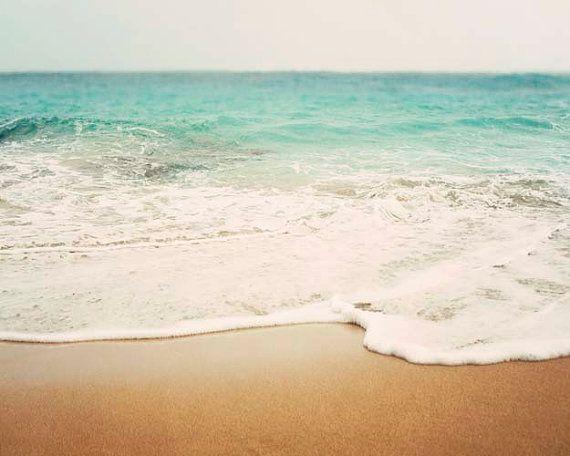 Fotografie landschap strand kust Decor Ombre Decor van het
