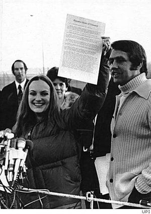 Patty Hearst's clemency. Symbionese Liberation Army.